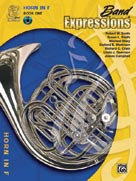 Band Expressions[TM], Bk 1 Horn