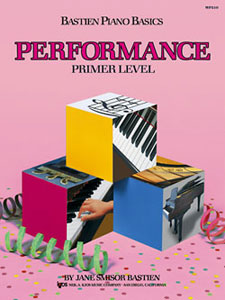 Bastien Piano Basics - Performance - Primer