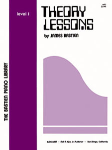 Bastien Piano Library - Theory Lessons - Level 1